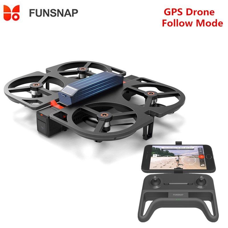 Xiaomiyoupin Funsnap IDOL AI لفتة AIRIGTION WIFI FPV مع 1080P HD كاميرا طوي rc بدون طيار quadcopter rtf محاكاة
