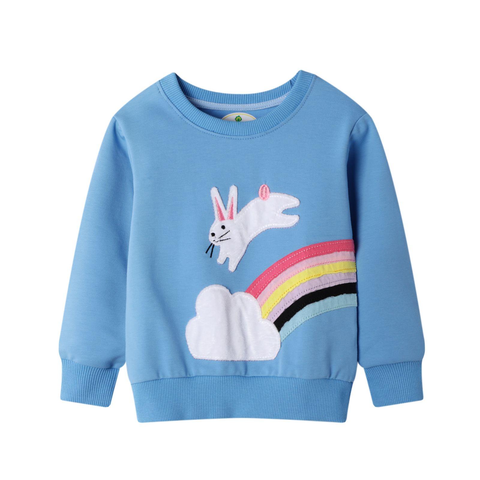 Autumn Girls Clothes Children Hoodies Cotton Kids Sweatshirts Baby Pullover Tops