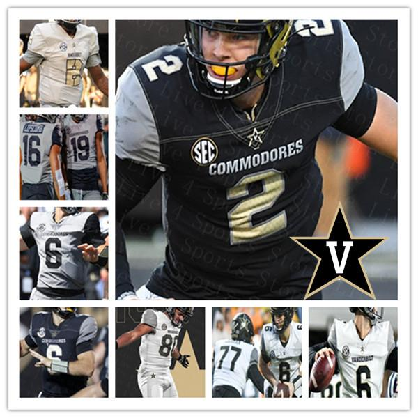 2021 Colégio Vanderbilt Commodores Futebol Ken Seals Ja'veon Marlow Cam Johnson Dayo Odeyerbo Randall Haynie Jamauri Wakefield Jersey