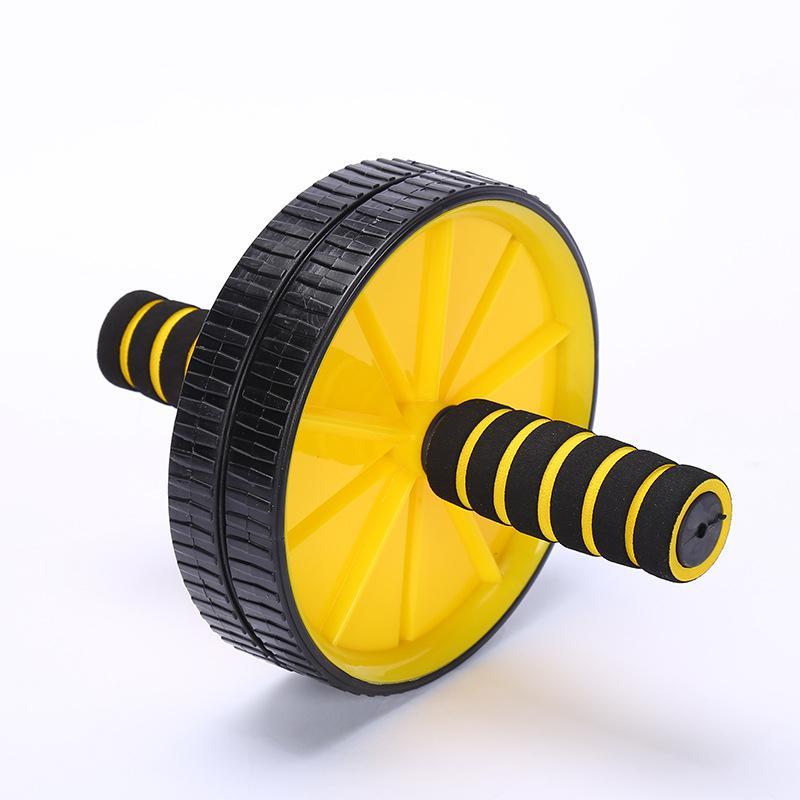 Дважды колесные Обновлено Ab брюшного пресса колеса Ролики CrossFit Упражнение Оборудование для Бодибилдинг Фитнес для дома Gym Y1892612