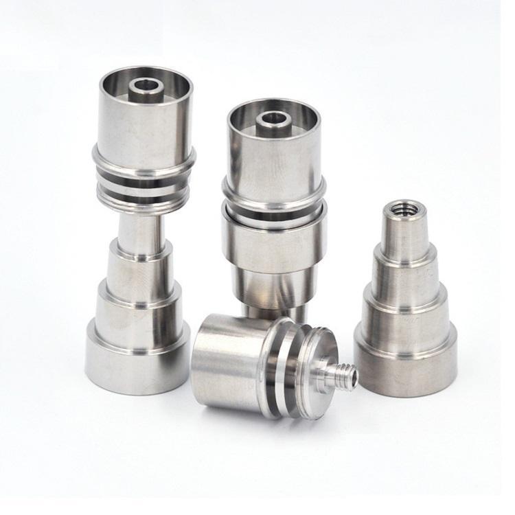 Бесплатный DHL 16 мм 20 мм Нагреватель Dnail Titanium Enail 6 в 1 Женский Мужской Регулируемый 2 Керамический E-Nail
