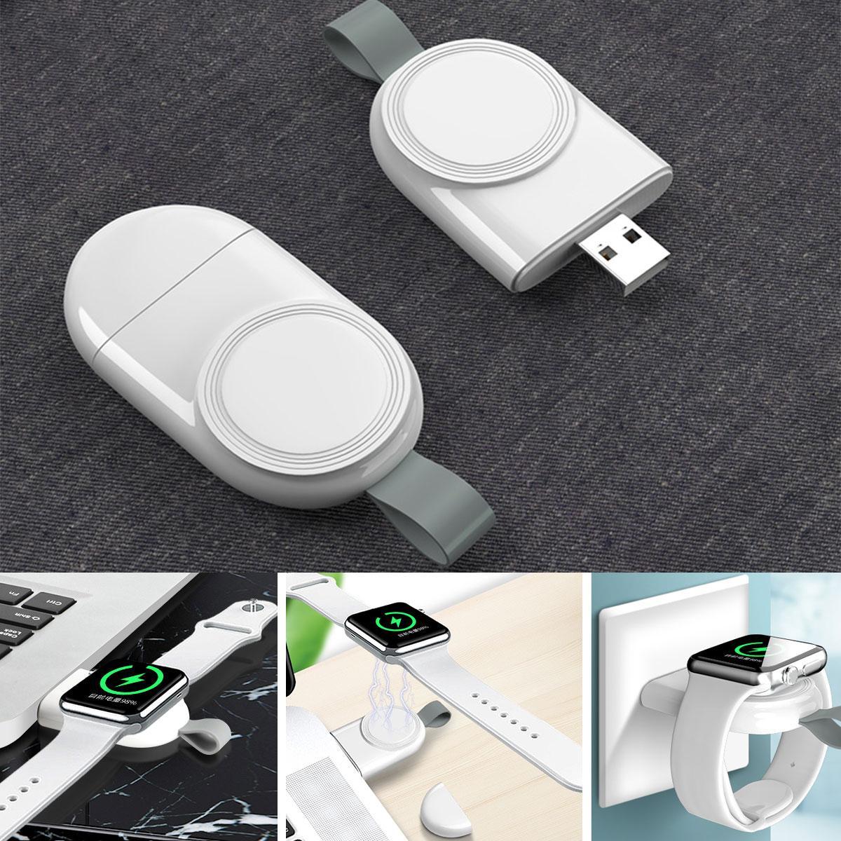 Pour iWatch portable USB Chargeur rapide Station de quai de chargement à basse température pour une montre Apple 44mm 42mm 40mm 38mm