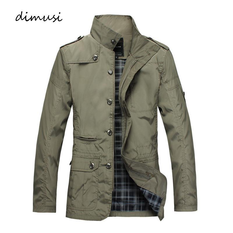 Mens Jackets Fashion Mens Anorak Hip Hop Streetwear Jackets Man Casual Slim Thin Windbreaker Overcoats Men Trench Coats