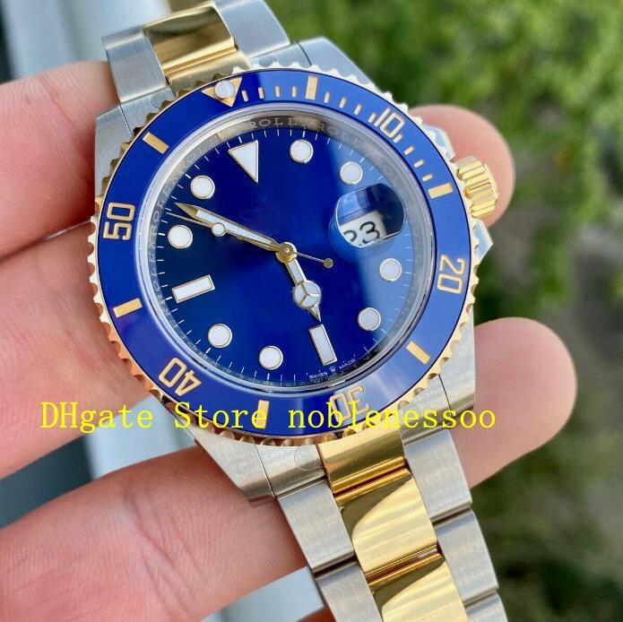 9 Color Classic Watch Mens 116613 116610 Two Tone Steel 18k Yellow Gold Black Dial Ceramic 116618 116610LN 114060 Asia 2813 Movement Watche