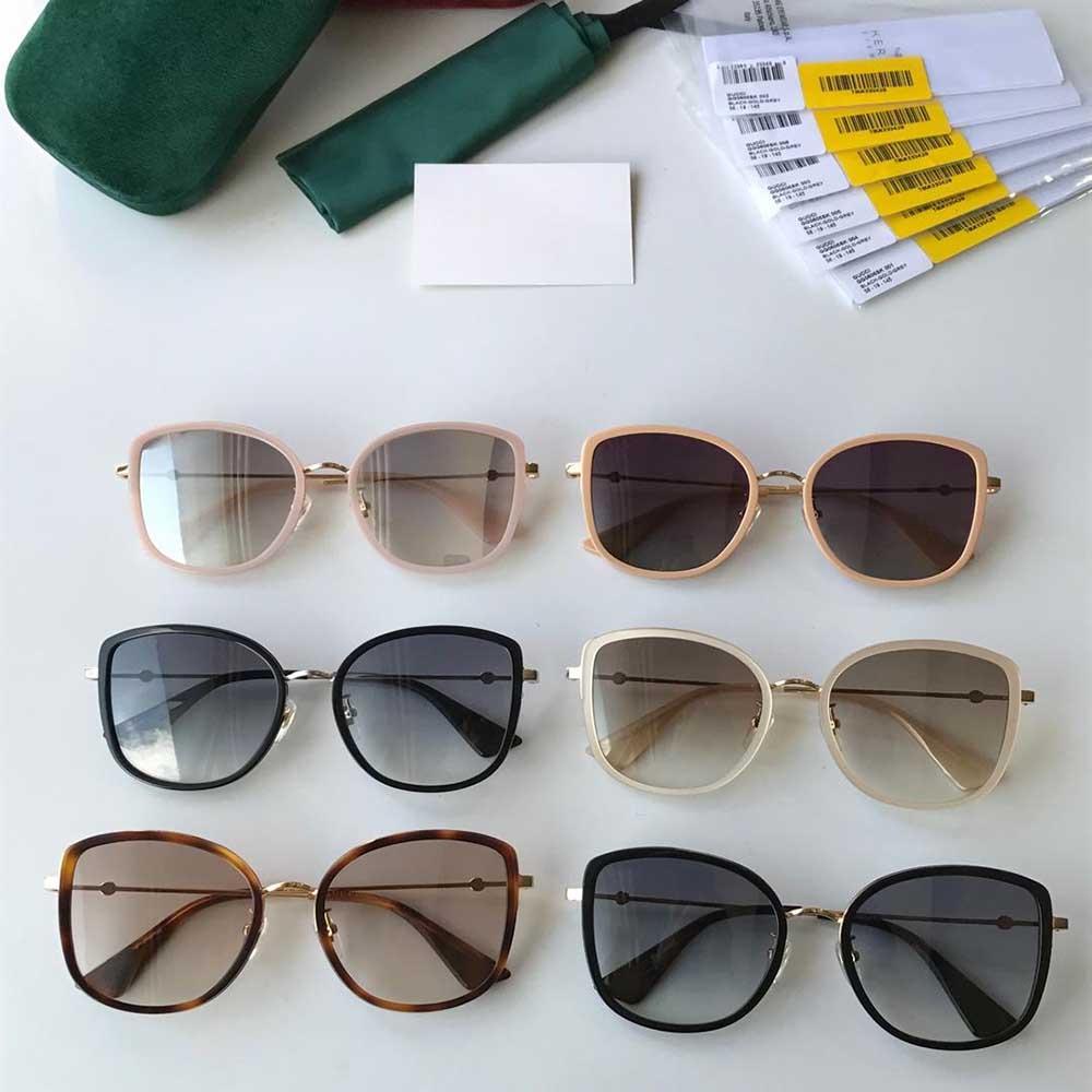 HT Wrap Güneş Gözlüğü Erkekler Kadınlar için Marka Tasarımcısı Güneş Gözlüğü Metal Çerçeve Flaş Ayna Cam Lens Moda Lüks Güneş Gözlüğü