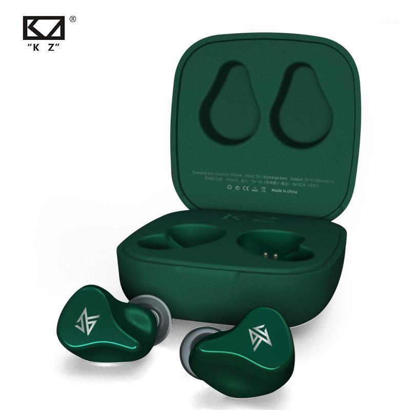 KZ Z1 True Беспроводной Bluetooth 5.0 1DD динамический сенсорный контроль шума шумоподавление спортивная гарнитура игра MODE1