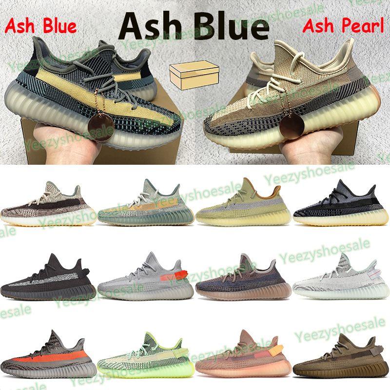 New Running Shoes Homens Mulheres Femininas Treinadores Esportivos Azul Pedra Natural Fade Cinder Yechheil Terra Clay Yeshaya Reflexivo Beluga Mens Sneakers