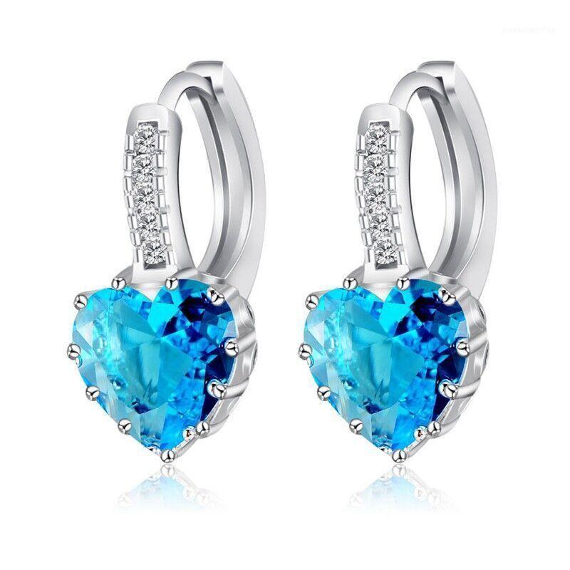 Stud Boutique Lady 925 Sterling Silber Kubikzirconia Ohrringe Mode Knorpel Piercing Earing Für Frauen Schmuck Brincos1