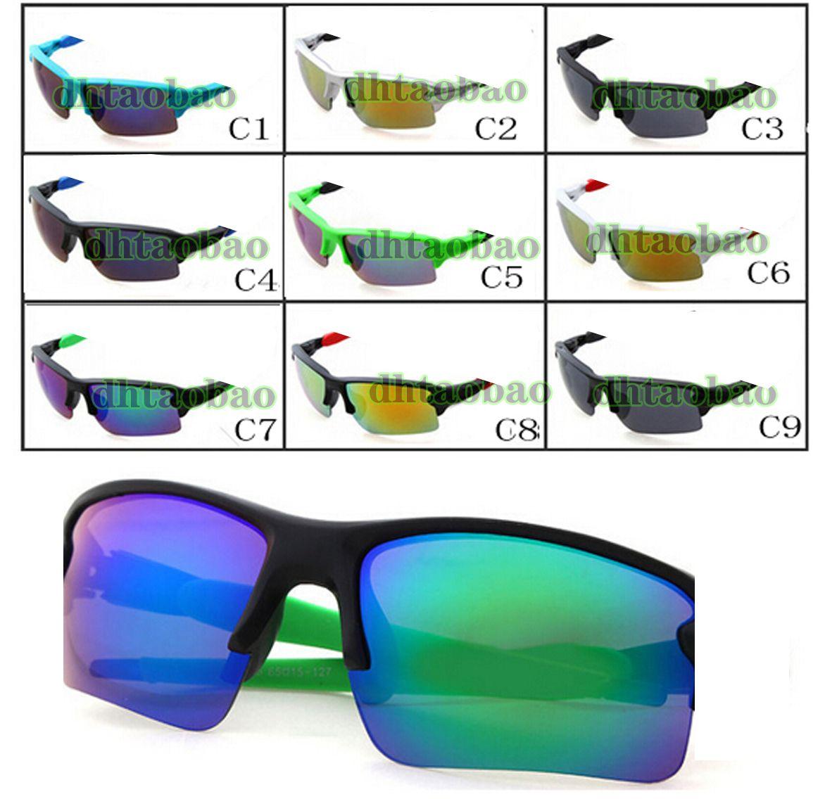 Mow = 10 pz estate più recenti donne di guida Gals Goggles ciclismo sport abbagliante occhiali uomo all'aperto rivestimento sole vetro A +++ spedizione gratuita