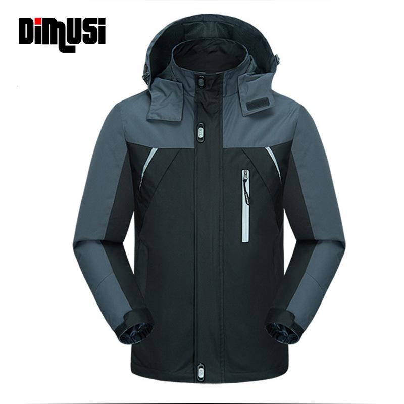 New Spring Autumn Causal Jacket Men Jackets Man Army Outwear Waterproof Windbreaker Coats Brand Clothing 4XL