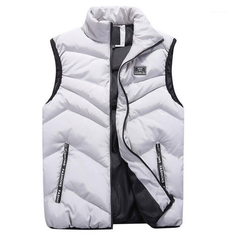 Erkek yelekleri Faliza 2021 erkek yelek bahar kış kolsuz ceket ve mont erkek yelek sıcak kalın rahat jile homme erkek mj1101