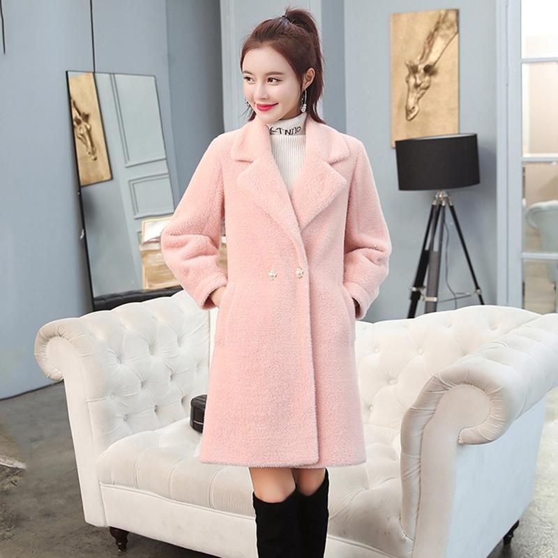 Femmes Basic Coats Mode Lady Winter manteau Rouge Manteau de longue durée Fabriqué en Chine Vêtements de haute qualité Vêtements 201104