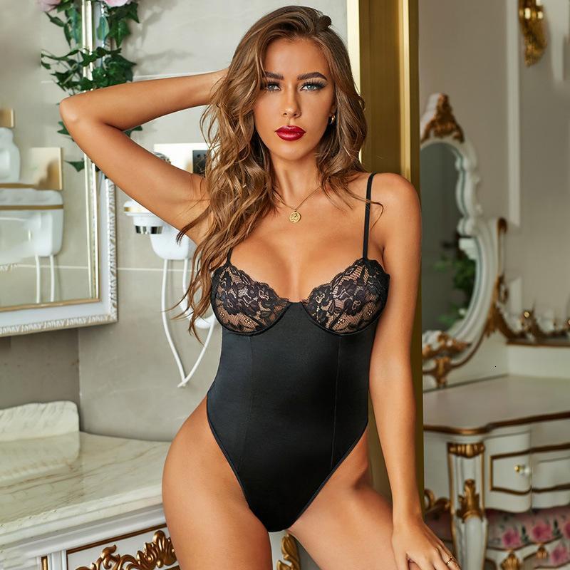 Femmes Sexy Lingerie Porno Perspective Sexe Robe érotique Sous-vêtements Pyjama Tentation Passion charme Conjoined Vêtements 2020 Hot