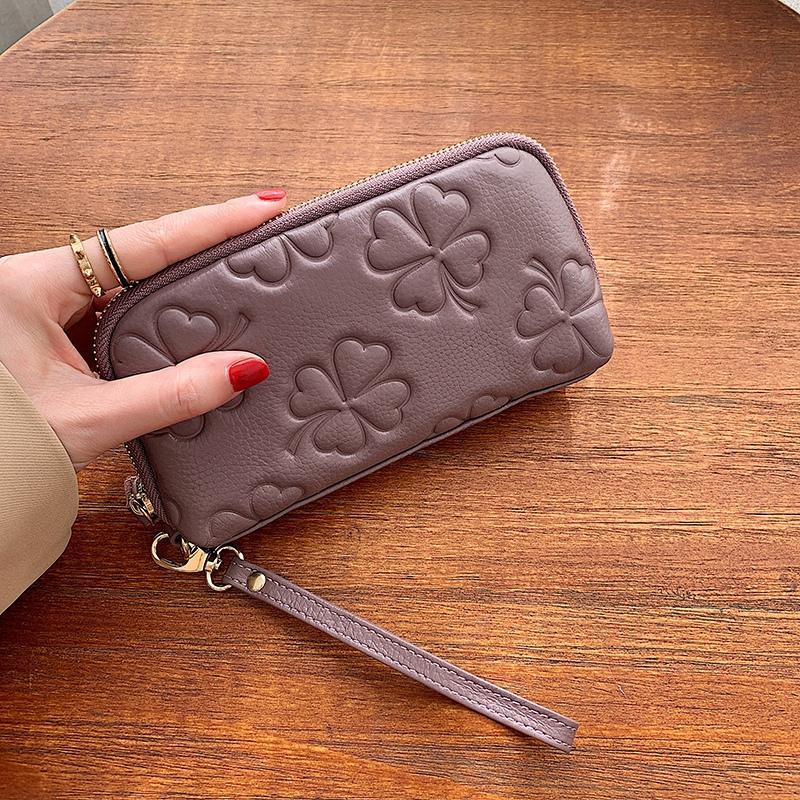 Pagamenti rosa donne Sugao titolare della carta raccoglitore del progettista 2020 nuova borsa fiore moda cuoio dell'unità di elaborazione 5 colori stampato BHP