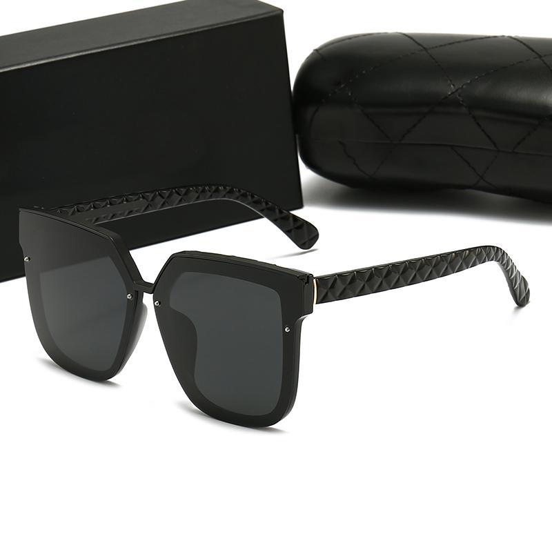 Üst Lüks Havacı Güneş Gözlüğü Polaroid Lens Marka Tasarımcısı Bayan Erkek Goggle Kıdemli Gözlük Vintage Metal Güneş Gözlükleri Kutusu