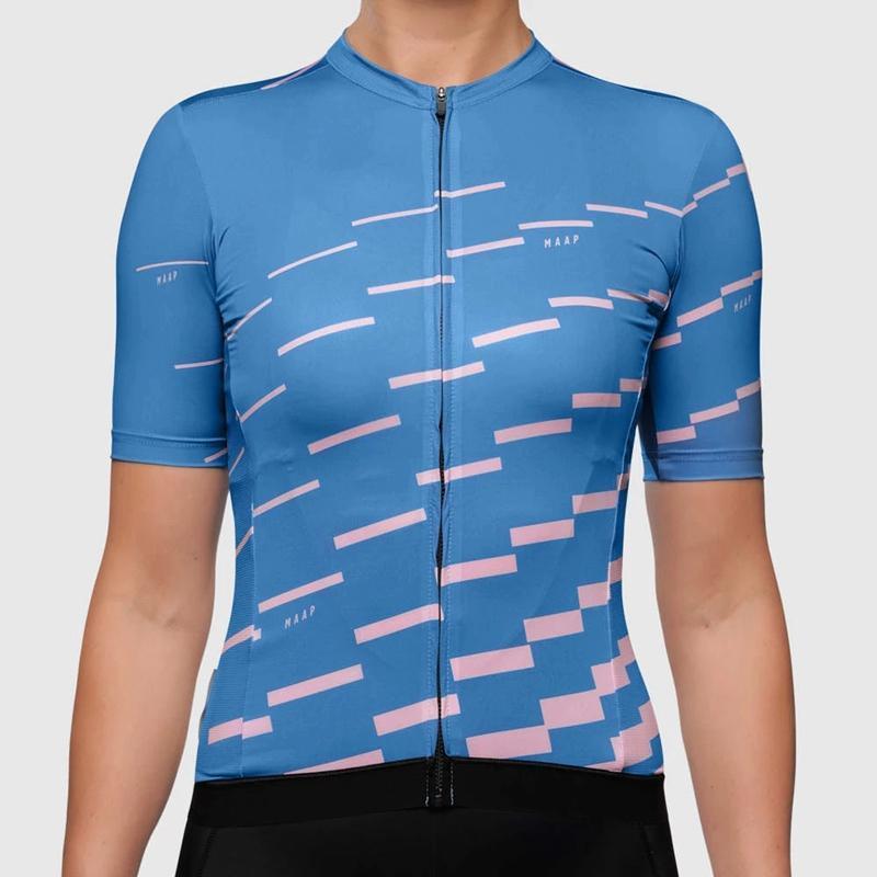 las mujeres jersey de bucle equipo de ciclismo de verano 2020 jerseys de la bici de montaña femenina Maap camino de MTB montan en bicicleta el maillot tops niñas Racing