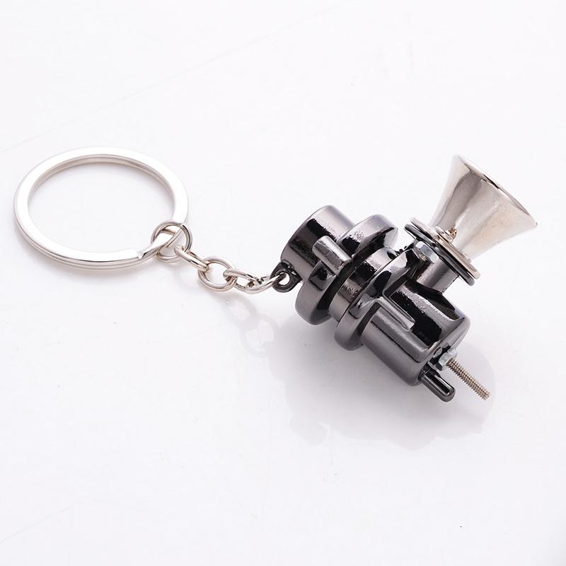 Metal Bov Turbo Keychain Blow Off Vae Parts Accessories Car Chain Key Ring Auto Zinc Alloy Keyring for Man Women Gift