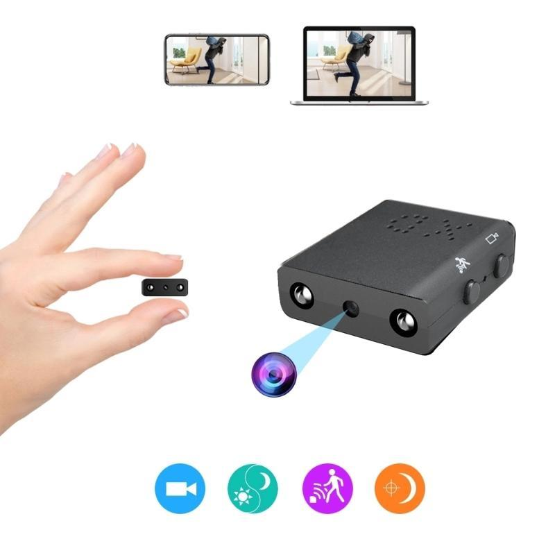 미니 카메라 1080P DV 카메라 가정용 감시에 대한 작은 디지털 IP 캠 IR-Cut Night Vision 보안 액션 마이크로 비디오 레코더