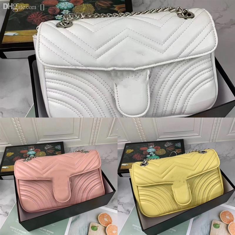 Czaq Designer Love Heart V Apresse Lady Lady Femme Pack Vague Chaîne de luxe Chaîne Véritable sac de sacs de sacs designer Sac à main Messenger Sac à main