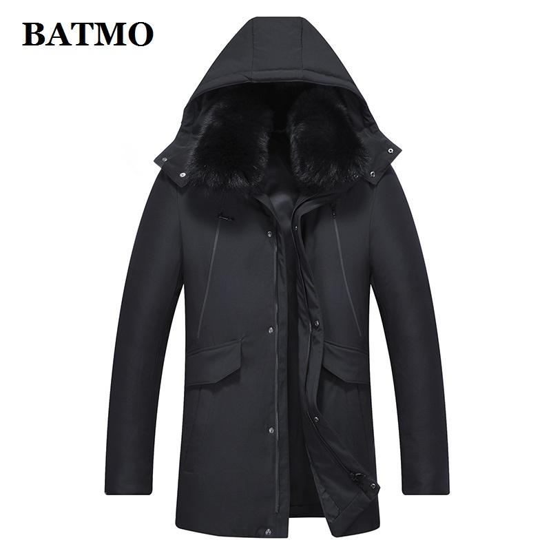 BATMO new arrival winter 90% white duck down hooded jackets men,winter men's parkas,warm coat,size M-XXXL ,LZ9902 201022