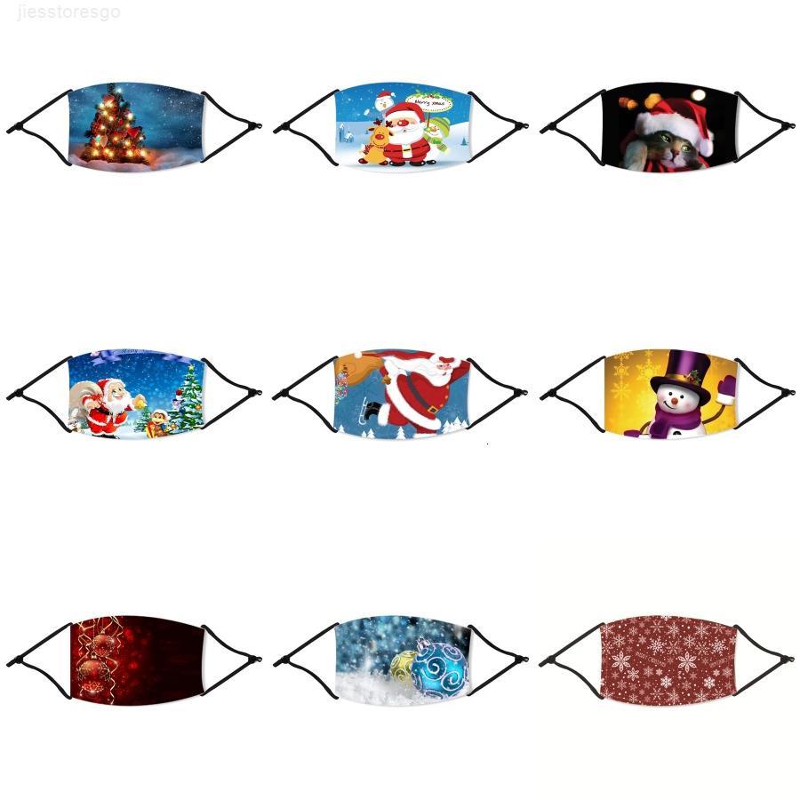 LED anti máscara de polvo 7 cambiable del color del delirio de luz luminosa Con máscaras de carga Cara de Navidad USB partido de las vacaciones Dance