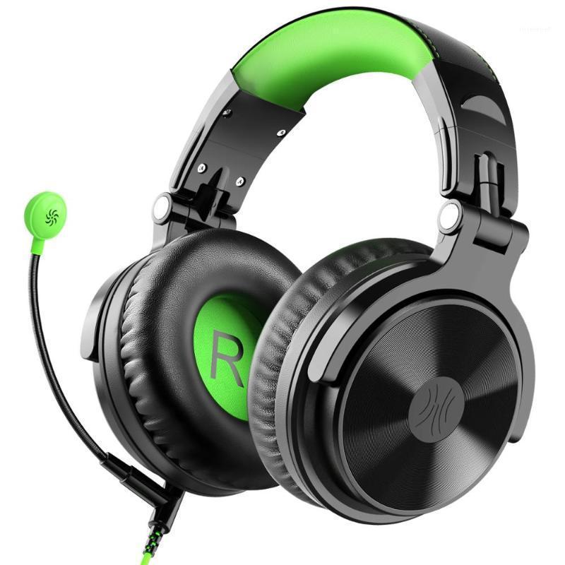 Oneodio sobre auriculares para juegos de oído para PS4 Xbox One P PC Teléfono Estilo Estilo Estilo DJ Auriculares Auriculares con cable Con Mic Volume Control1