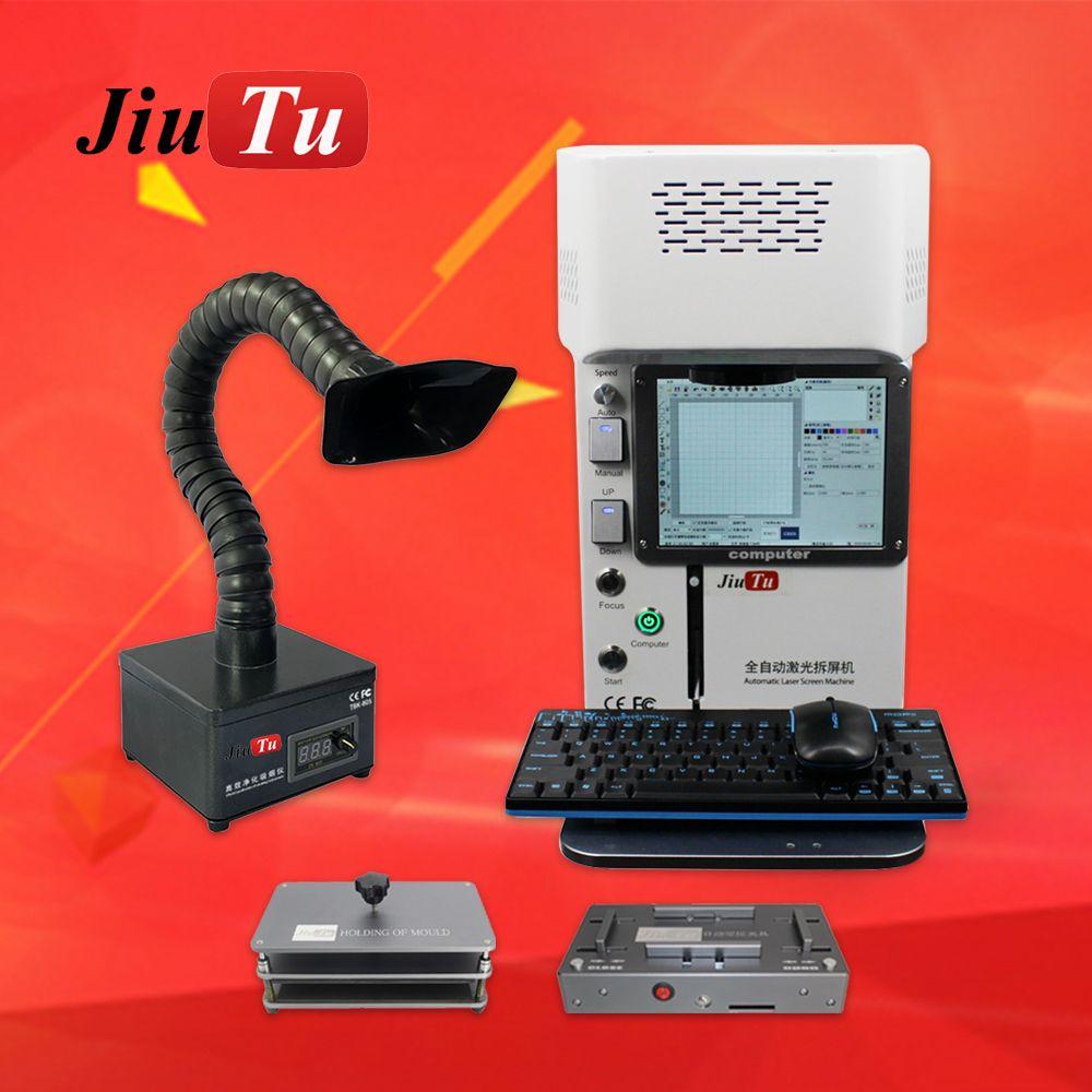 jiutu 핸드폰 백 유리 레이저 기계 후면 커버 전화 IP8 8P x XR 11 11Promax 12 교체