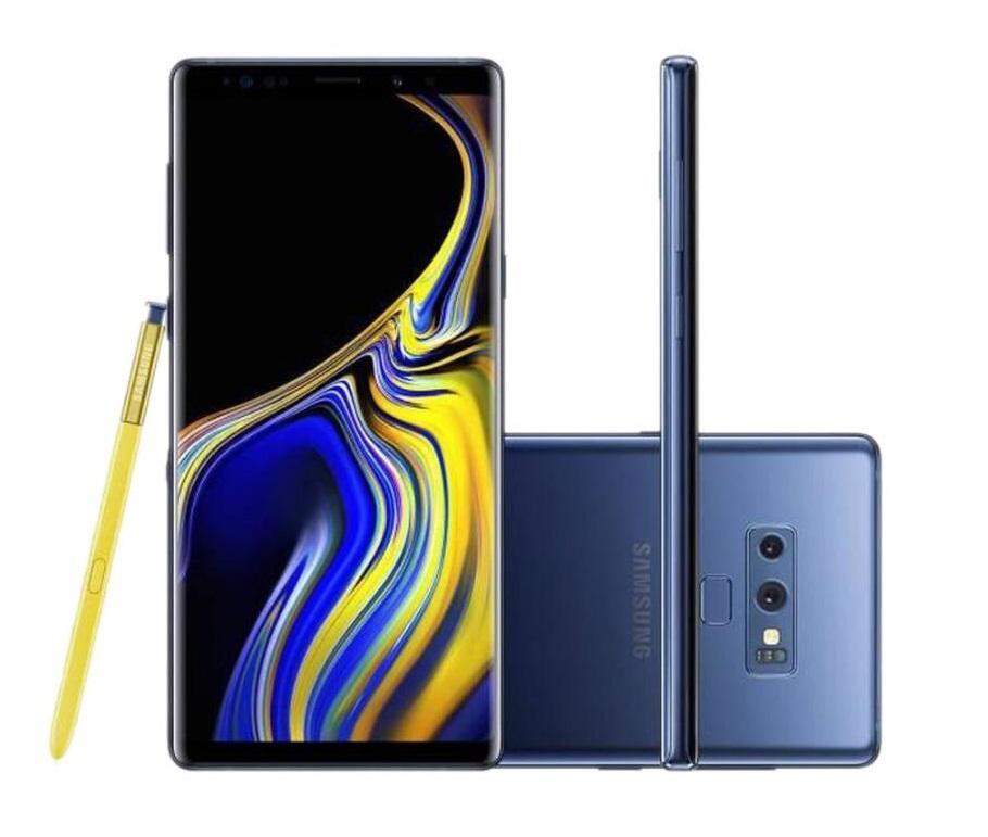 "Samsung Galaxy Note 9 N960U 128GB Octa Core 6.4 ""Dual 12MP NFC REFLEBING MBLE TELEFONE DESBLOQUE"