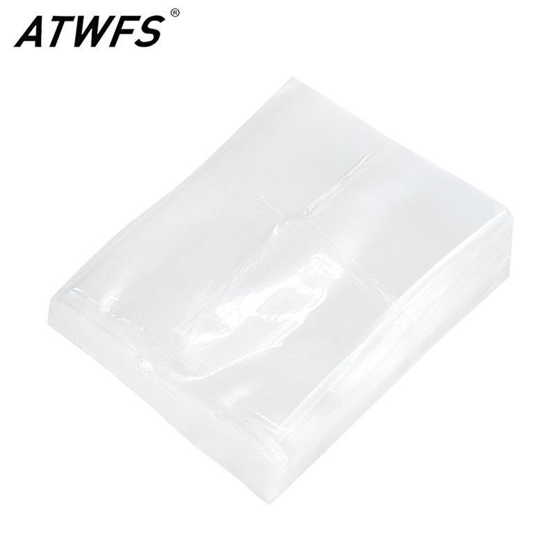 ATWFS 100pieces / много Вакуумная сумка кухни запайки Vacum сумка Saver Sous Vide Вакуумные мешки для