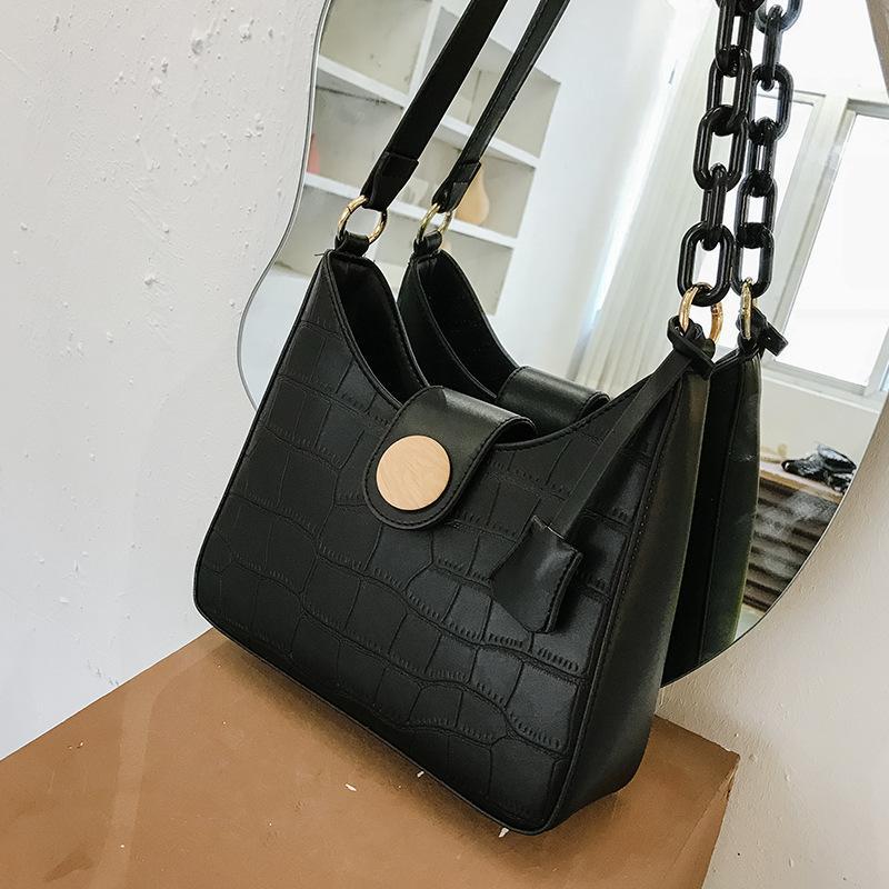 Crossbody Luxurys Frauen Summen Frauen Handtaschen 2020 Die Großhandel Taschen Messenger Schulter Neue Krokodil-Druck Quadratische Vielseitige Tasche des Fojs
