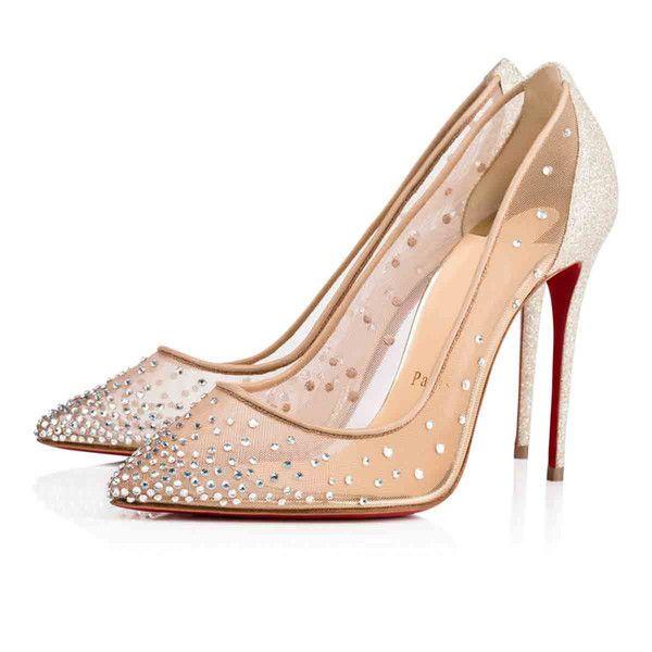 اللباس أحذية [مربع الأصل] الكعوب العالية الأعلى Galativi نوع من الكريستال الأحمر أسفل مضخة الأسود عاري المرأة فستان الزفاف حفل زفاف الخصم مع صندوق