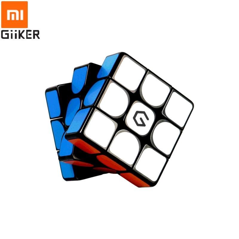 Xiaomi Giiker M3 المكعب المغناطيسي 3x3x3 حية اللون ساحة ماجيك مكعب لغز تعليم العلوم لعبة هدية Y200428