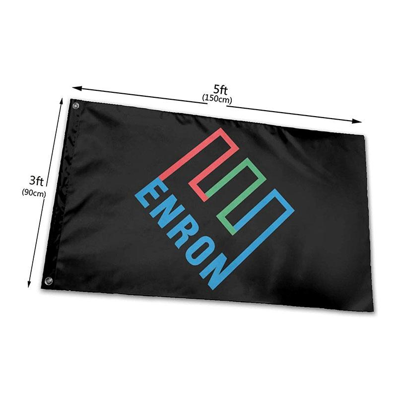 Enron Флага 150x90cm Баннер 3х5 футов 100D полиэстер цифровой печати Крытый наружного использования висячие, бесплатная доставка