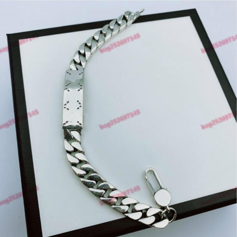 الجملة 925 فضة أساور ثعبان سلسلة صالح سحر الخرزة الإسورة سوار مجوهرات هدية للرجال النساء أساور مع مربع