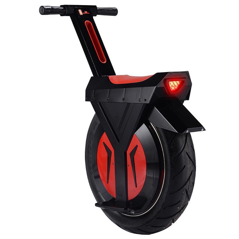 Neue elektrische Unicycle Roller 500W Motorrad Hoverboard Ein Rad Bluetooth Lautsprecher Roller Skateboard Monowheel Elektrische Fahrrad Big Rad