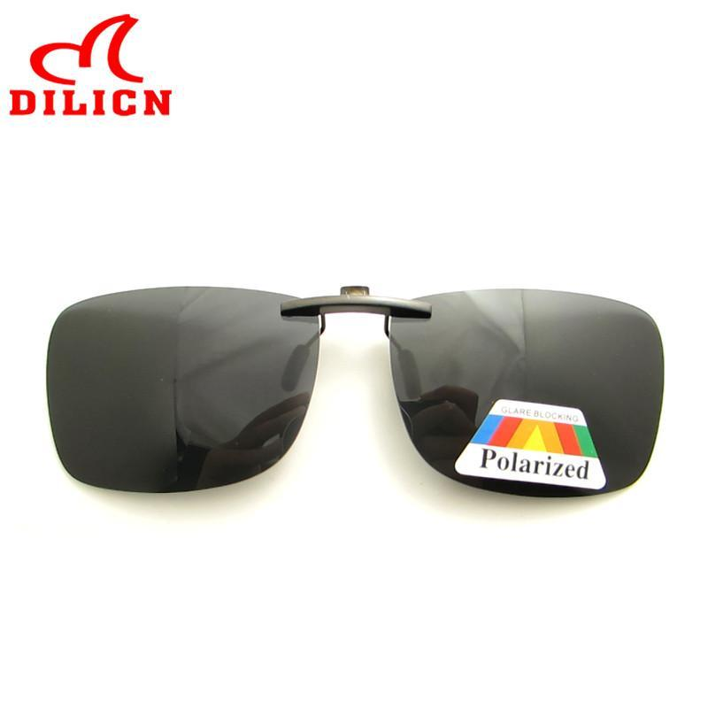 DL024 Sun Quadrato Driving Metallo polarizzato su occhiali da sole Donne Uomo Uomo leggero Occhiali da uomo Unisex Glass Blocco per grafici oversize su Ultra UV400 Clip SWKKI
