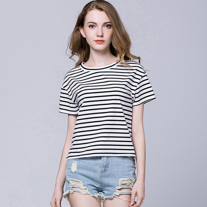 Camiseta de algodón transpirable de las mujeres casuales de alta calidad simple de verano