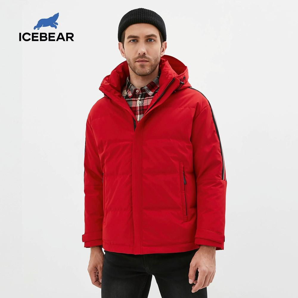 Icebear new winter mens coats fashion high quality casual male coat warm male down coat brand apparel MN319952P 201022