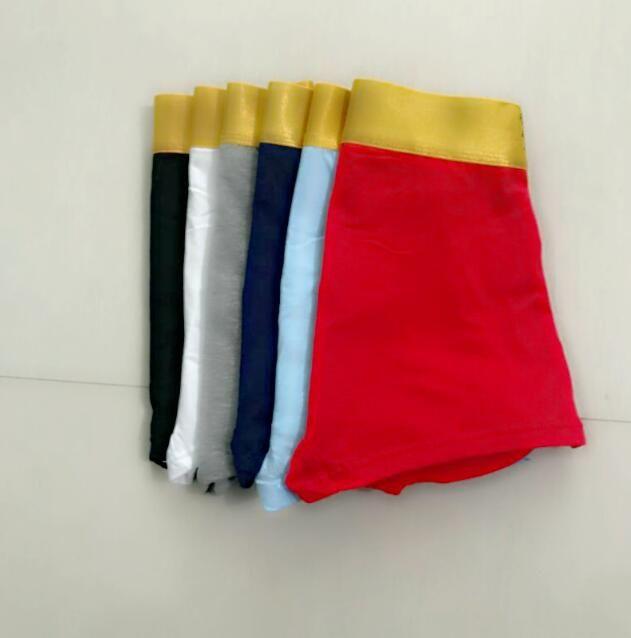 New Mens Underwears moda Black Boxers respirável Boxer cuecas Masculino sexy cintura cueca homem underwear