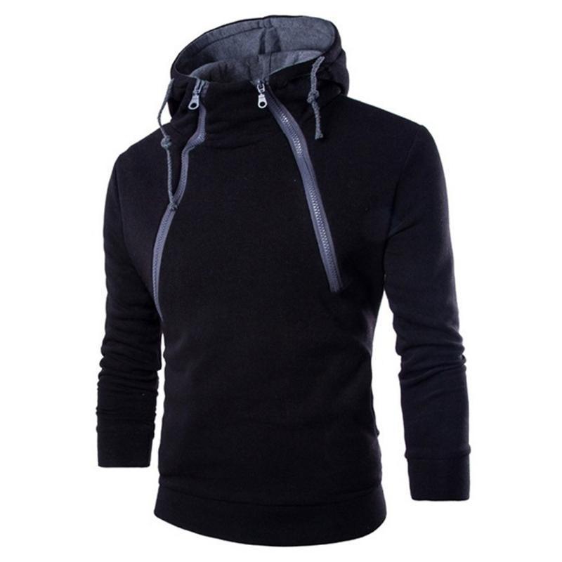 2020 Yeni Moda Erkekler Kapşonlu Sweatshirt Erkek Uzun Kol Patchwork Hoodie Kapşonlu Sweatshirt En Tee Dış Giyim Bluz 3.