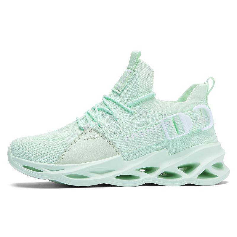 عالية الجودة رجل إمرأة الاحذية الثلاثي الأسود الأبيض الأخضر الأحذية في الهواء الطلق الرجال النساء مصمم أحذية رياضية الرياضة المدربين نمط حذاء رياضة