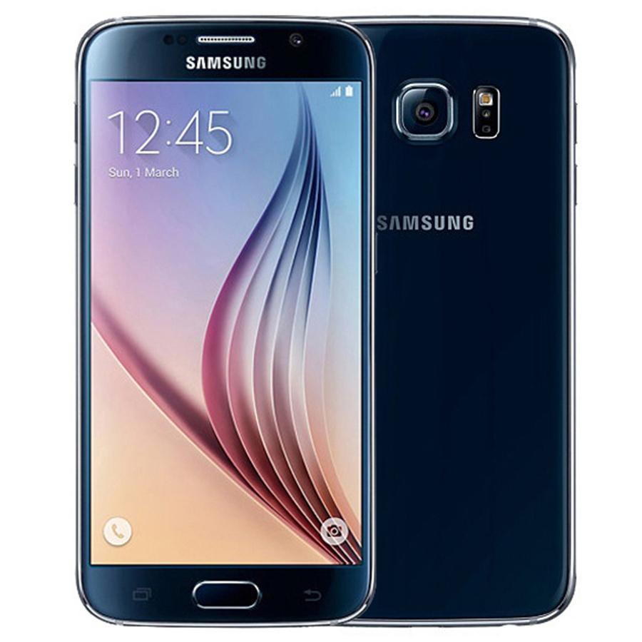 Восстановленные оригинальные Samsung Galaxy S6 G920F 5,1 дюйма Octa Core 3GB RAM 32GB ROM 16.0MP 4G LTE Android Сотовый телефон DHL 1 шт.