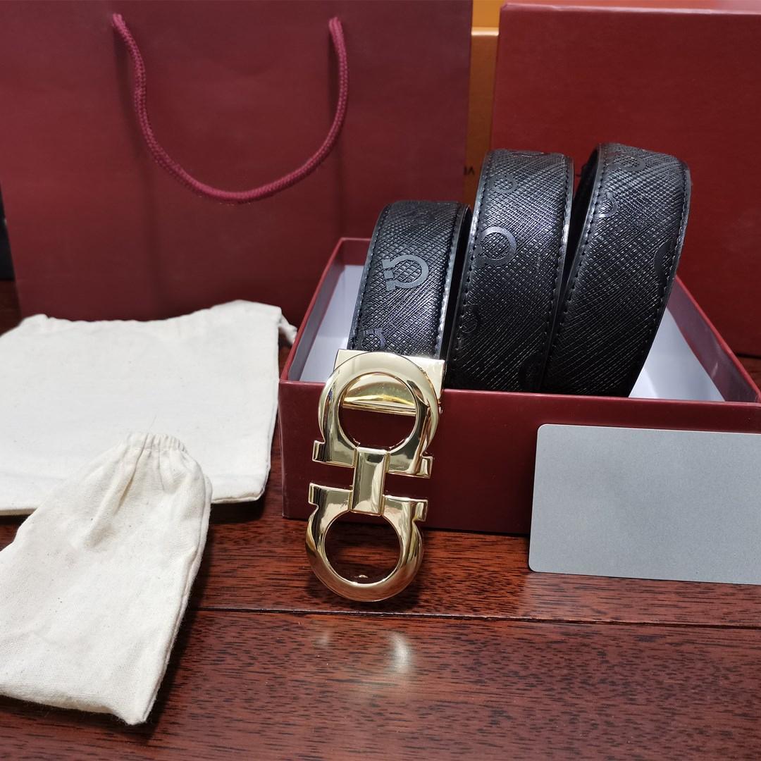 las mujeres al por mayor de alta calidad de negocios de moda casual para hombre TOP vaquero cinturones de hebilla de metal de cuero de diseño en relieve del Pin de la correa # A8TG