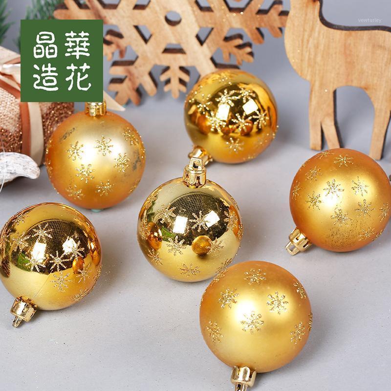 زينة عيد الميلاد diy شجرة عيد الميلاد شنقا ديكور كرات الكرات الأحمر الديكور 12pcs1