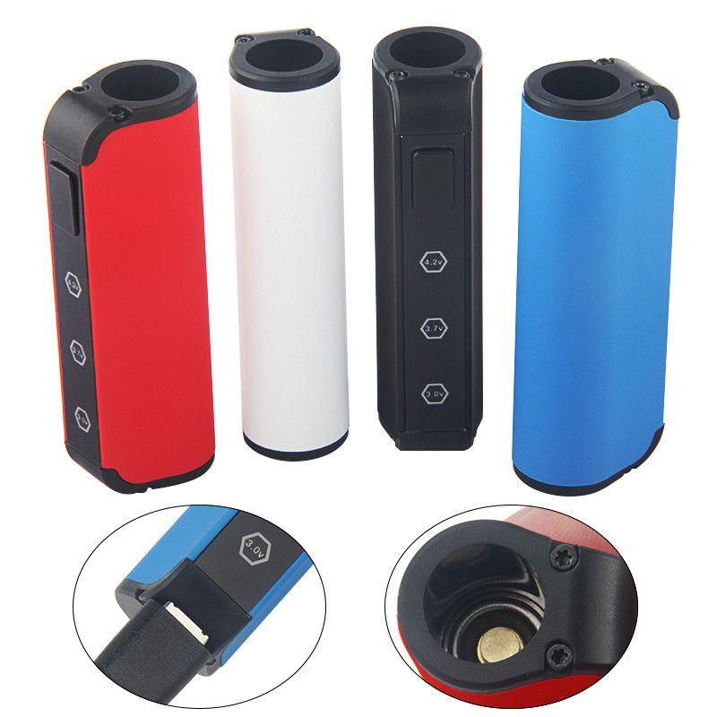 Authentische Beleaf Vape Pen 450mAh Box Mod Vaporizer Ölwagen Batterie vorheizen Variable Voltage 510 Gewinde für Thick Öl Cartridges