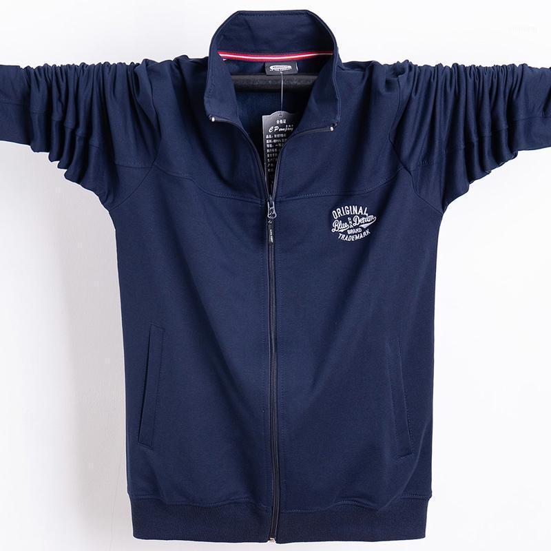 Homens Casacos Casaco Homens Outono 2021 Casual Mens Soltos Sportswear Ao Ar Livre Casaco Masculino Casacos Masculinos Plus Size Roupas 5xl 6XL1