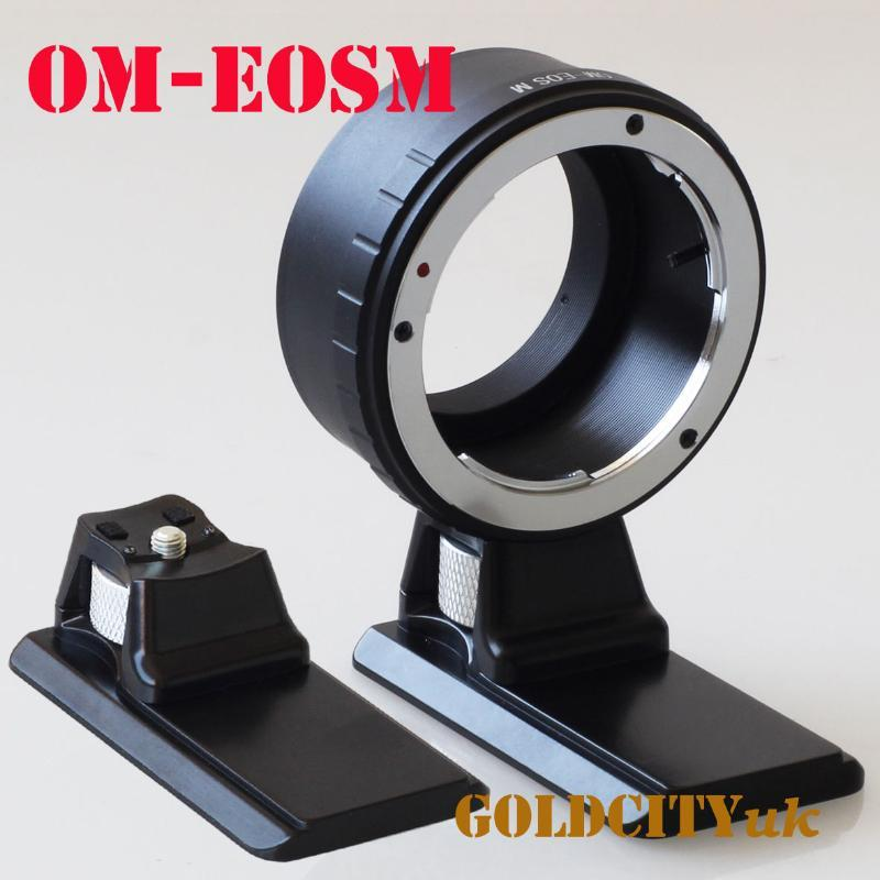 Lens Adapters & Mounts Adapter Ring With Extended Tripod Stand For Om To EOSM EF-M EOSM/M2/M3/m5/m50 Mirrorless Camera