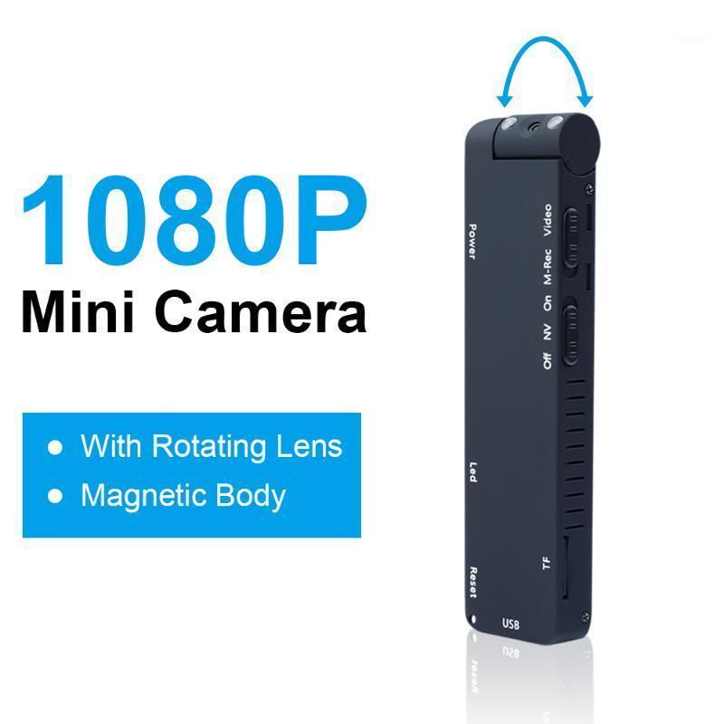 Jozuze mini câmera digital hd micro came magnética câmera de corpo de detecção de movimento snapshot loop gravação filmadora1