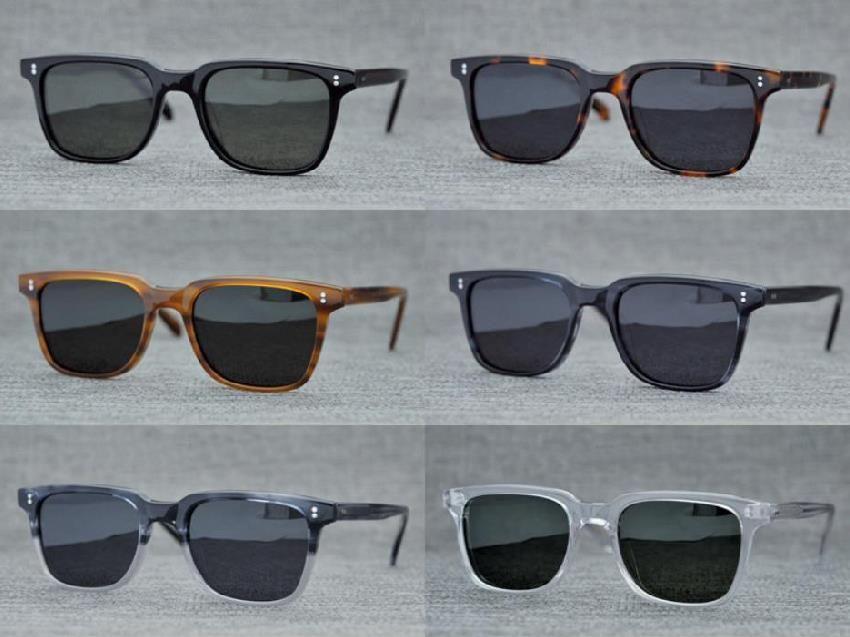 Wholesale Men Driving Polarized Sunglasses NDG Retro Glasses OV5031 Colorful Rectangle ov 5031 Sun glasses Eyewear with box