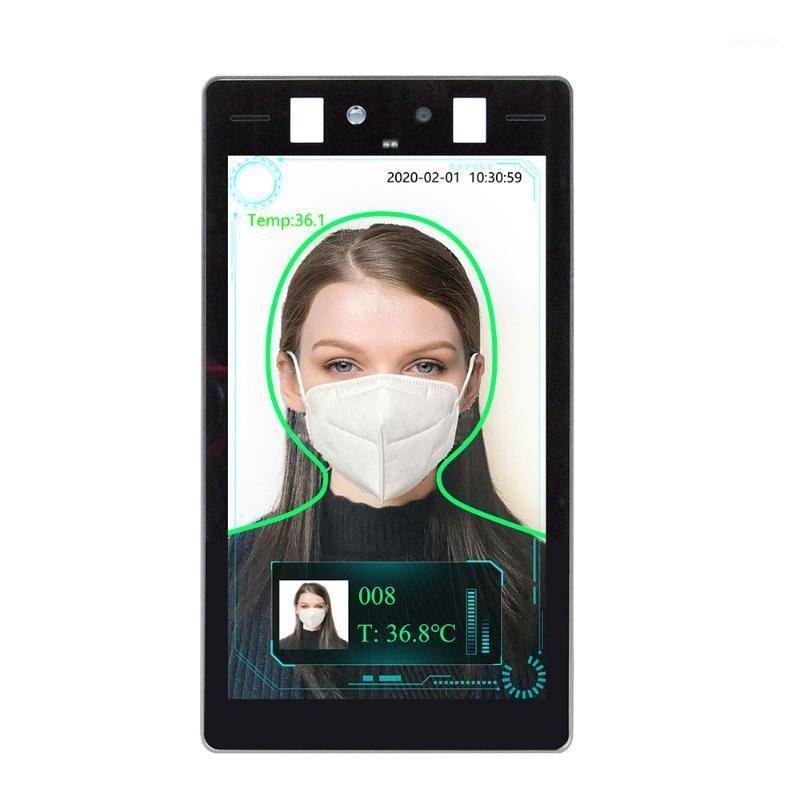 التعرف على الوجوه الحرارية ماسحة الحرارة 8 بوصة محمولة الجدار اللوحي تحكم الهاتف الذكي 1